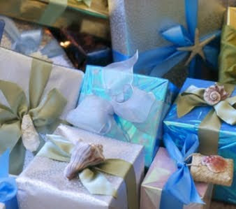 Sea Shell Gift Wrap