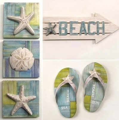 beach decor fun artistic wood and metal sculptures signs coastal decor ideas and interior. Black Bedroom Furniture Sets. Home Design Ideas