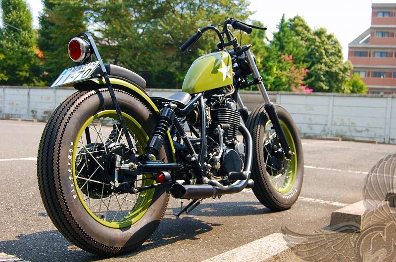 Kick Back Motorcycles Sr400 Bobber