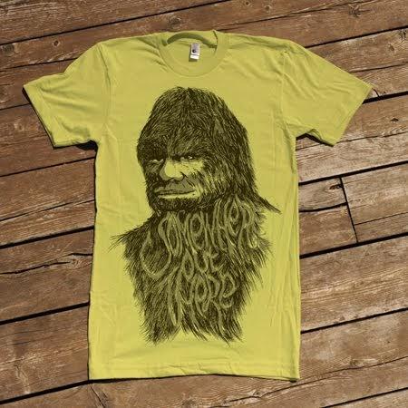 Bigfoot News | Bigfoot Lunch Club: National Designer Creates Best Bigfoot Tshirt Ever