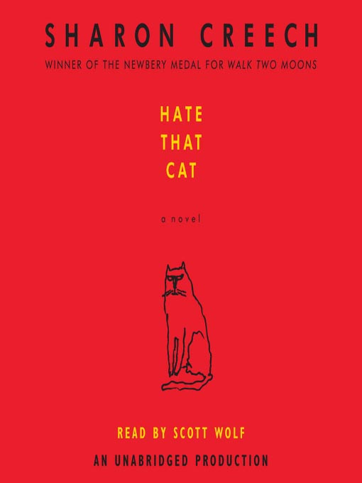 Novel Books For Students Mrs Niff 39;s Summer Readin 39; Book 3 Hate That Cat