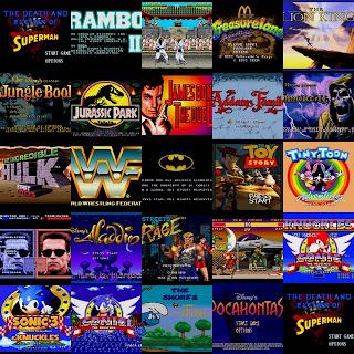 30 Screen Pacote com 30 Games Sega para PC