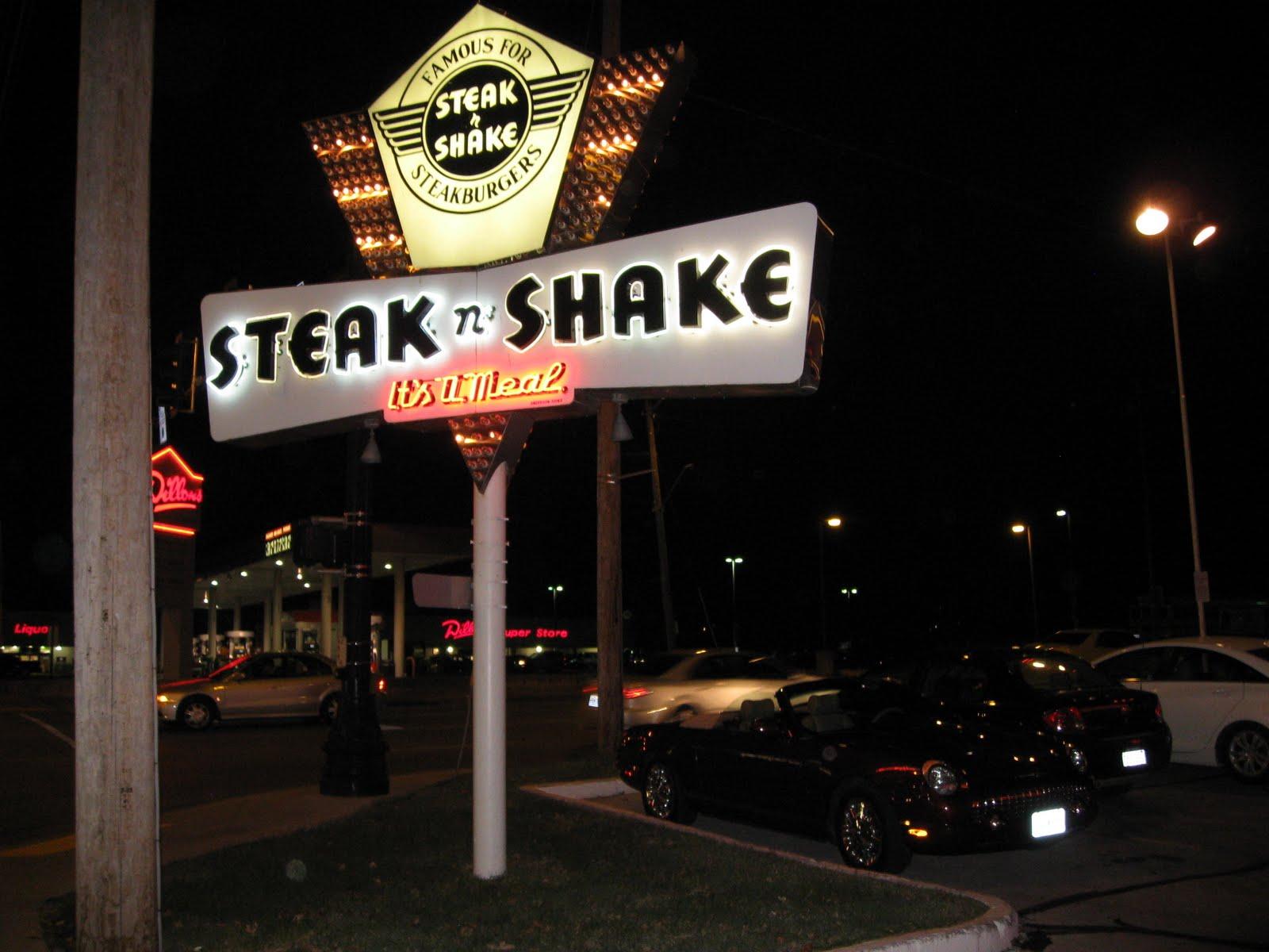 Tbirdonroute66 Steak N Shake Takhomasak Springfield Missouri
