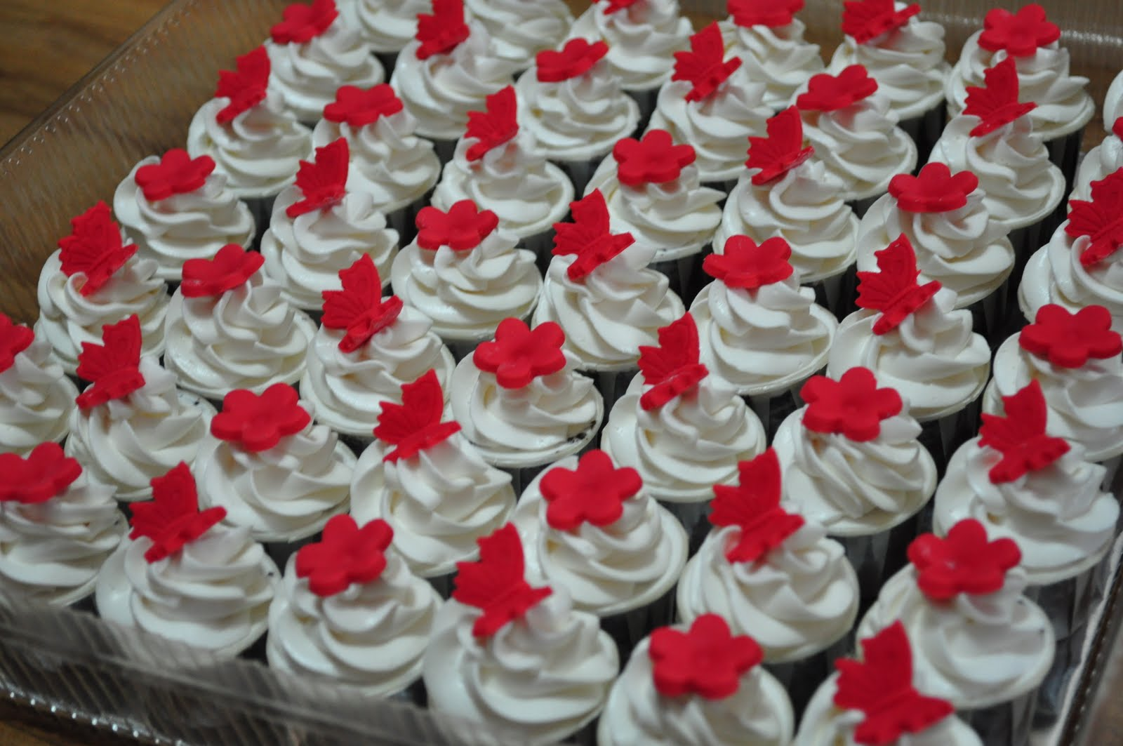 Dari Oven Yang Comel: Mini Cupcakes
