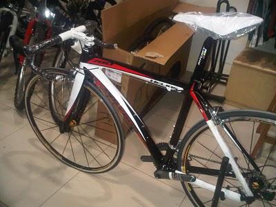 Modifikasi Sepeda Keren Modifikasi Sepeda Road Bike Helios 780 Polygon 2010