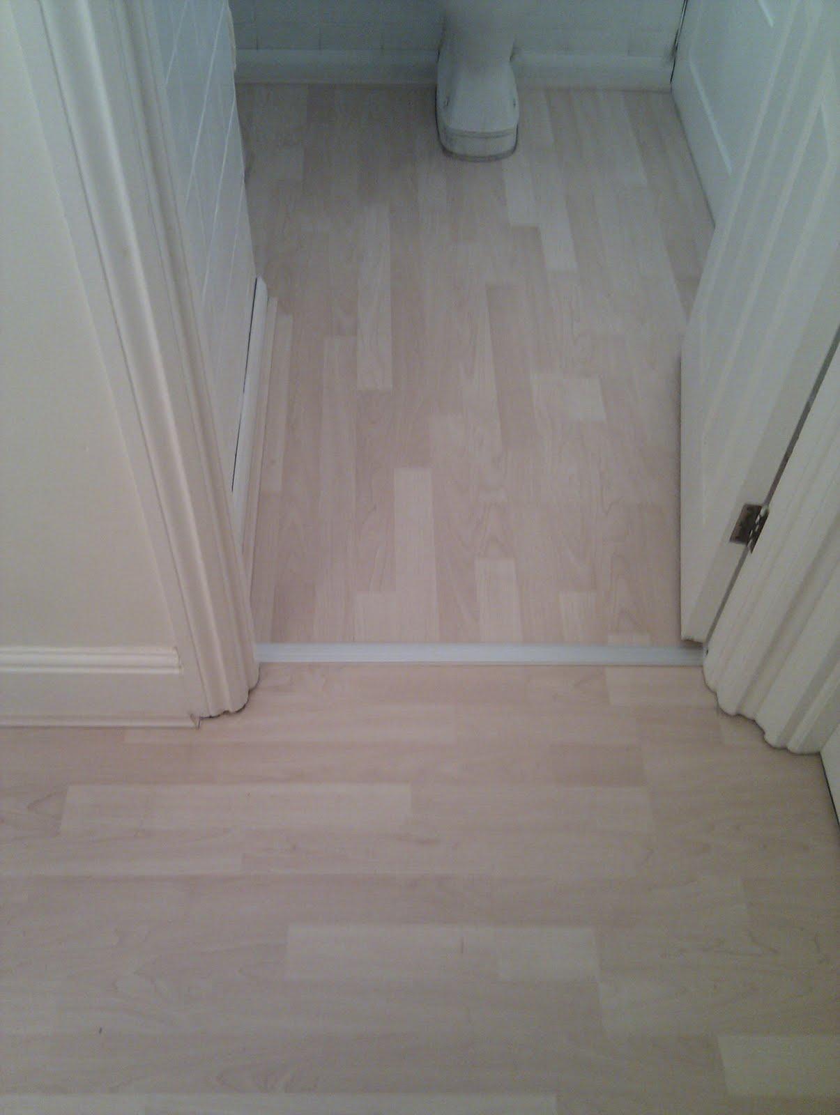 Bathroom Laminate Flooring: Laminate Flooring: Wood Laminate Flooring In Bathroom