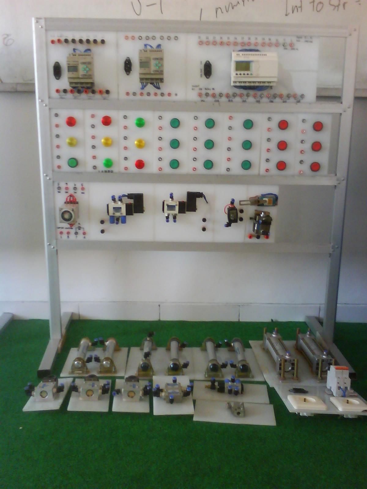 Push Button Control Panel Plc