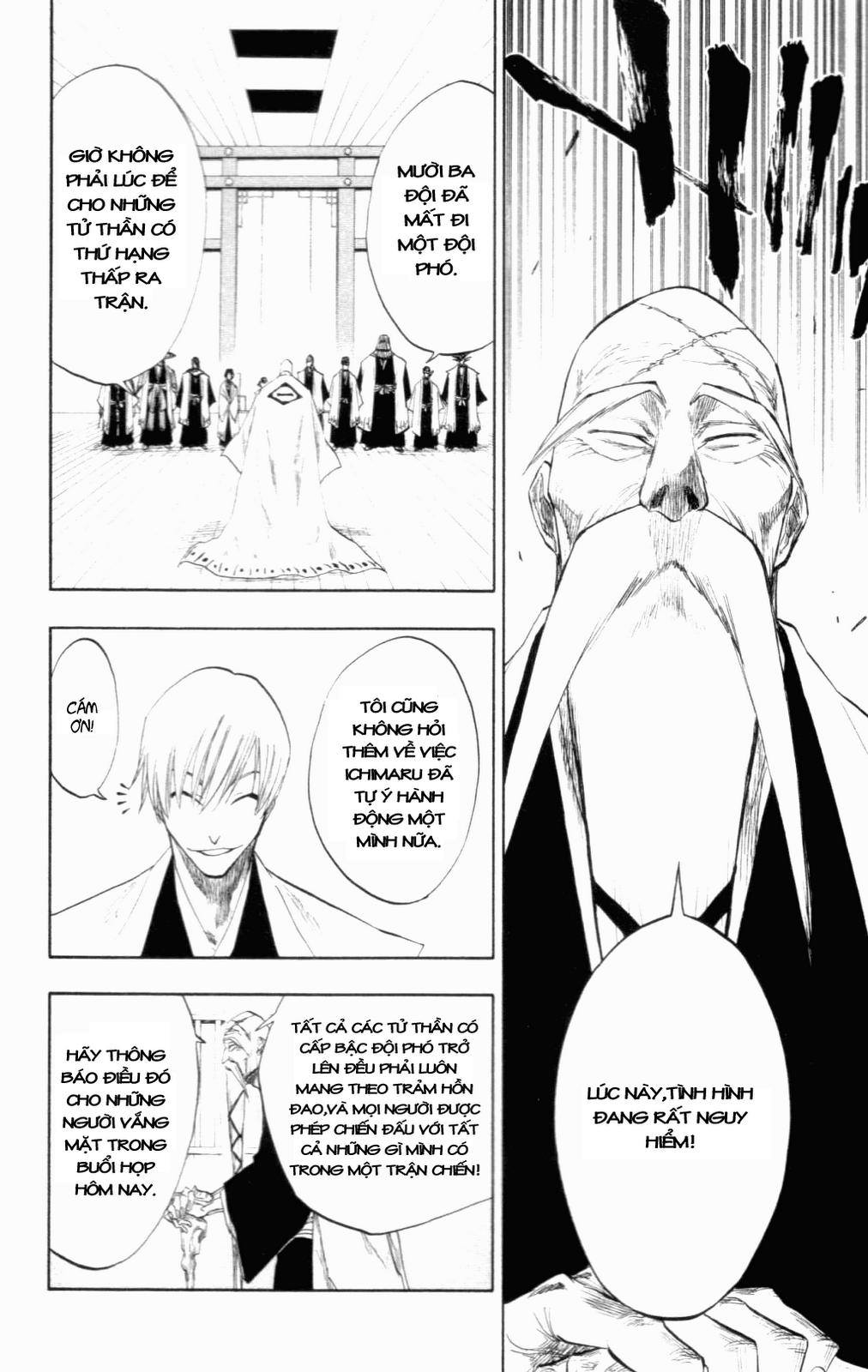 Bleach chapter 99 trang 18