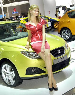 Hot girls from Moscow Auto 2