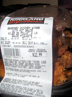 costco chicken wings cooking instructions