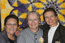 Three Mennonite Quilting Sisters
