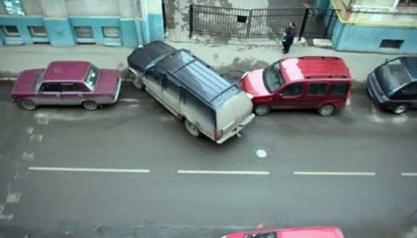 Compilation of bad car parking