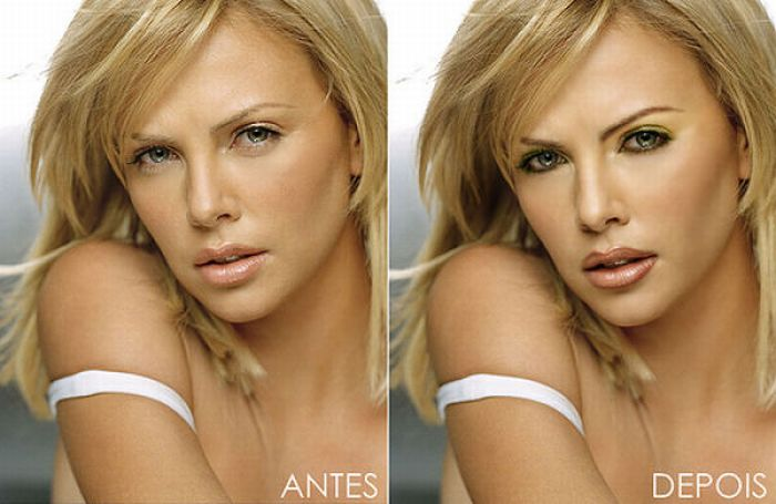 Final, sorry, photoshop celebrities before after this intelligible