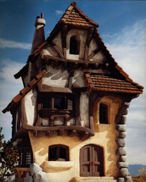 Home House Design Ideas: 46 Unusual House Designs Like Fairy Tales