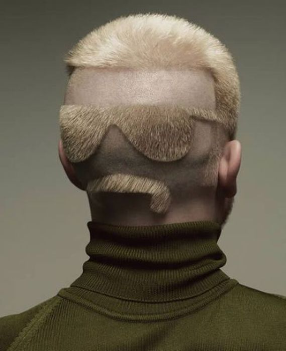 Fuuny And Crazy Hairstyles Curious Funny Photos Pictures