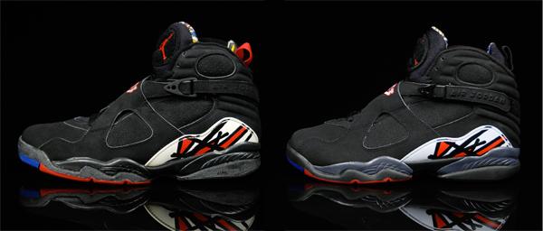 purchase cheap c44fe b31cc Fashion,Music...Life: Air Jordan 8 Playoffs OG vs. Retro ...