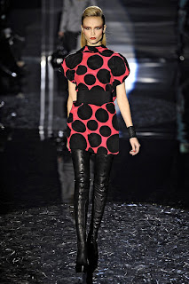 gucci boots, Gucci runway 2009, Fall trends, fashion, shopping, leather boots, over the knee thigh high boots