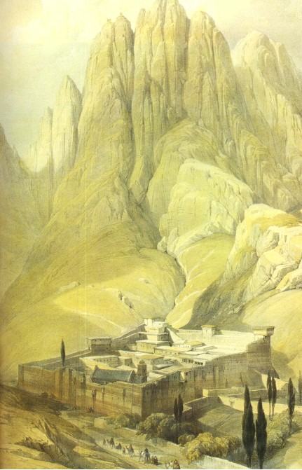 The Real Mount Sinai Is Where It Has Always Been | MYSTAGOGY