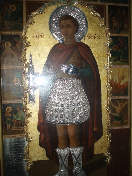 Saint Phanourios The Great Martyr And Newly Revealed Of
