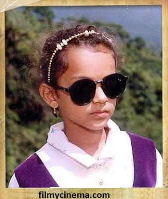 Actress collextion: Kangana Ranaut Childhood Pictures