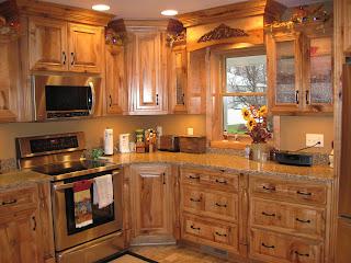 Big Kraut Construction: Rustic Maple Kitchen