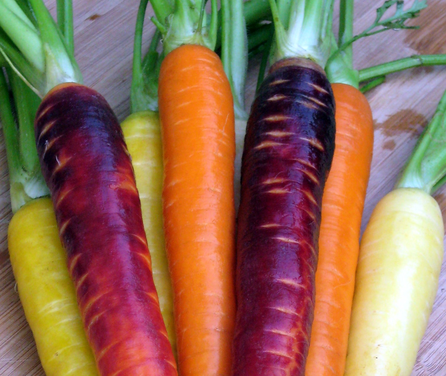 More Rainbow Carrots!