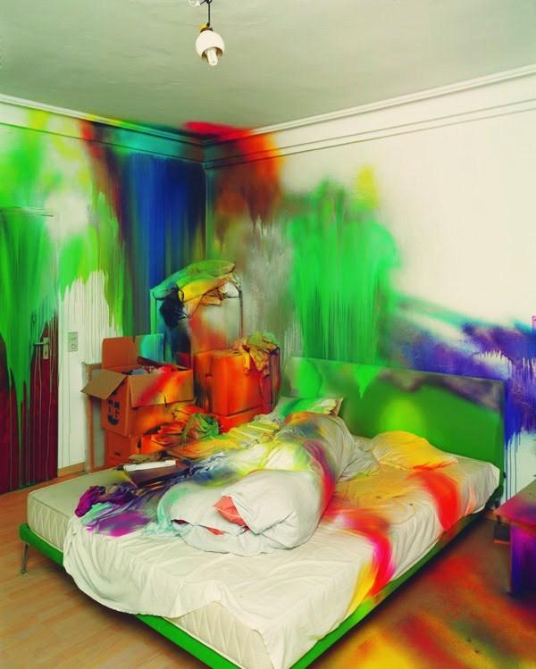 Cool Splatter Paint Rooms Extraordinary Kids Bedroom Colors