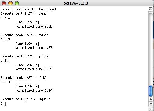 Short IT recipes: Performance benchmark script for MATLAB