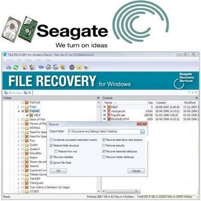Download recovery free drive software seagate external hard data
