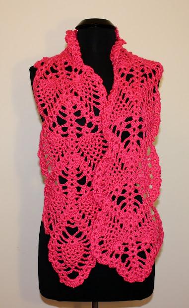 Olga' Craftin' Haven Crochet Scarves Valentine' Day