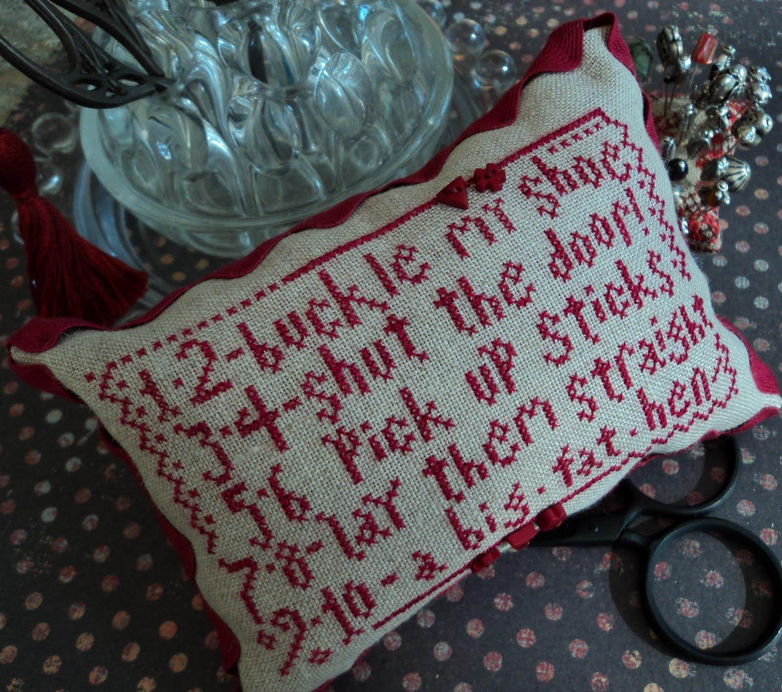 Carolina Stitcher 1 2 Buckle My Shoe