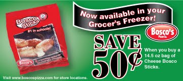 Savvy Spending: Coupon and Freebies from Bosco Snacks!