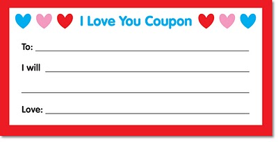 Simply awesome printables i love you coupon for Love coupon template for word