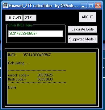 Zte Unlock Code Calculator 16 Digit