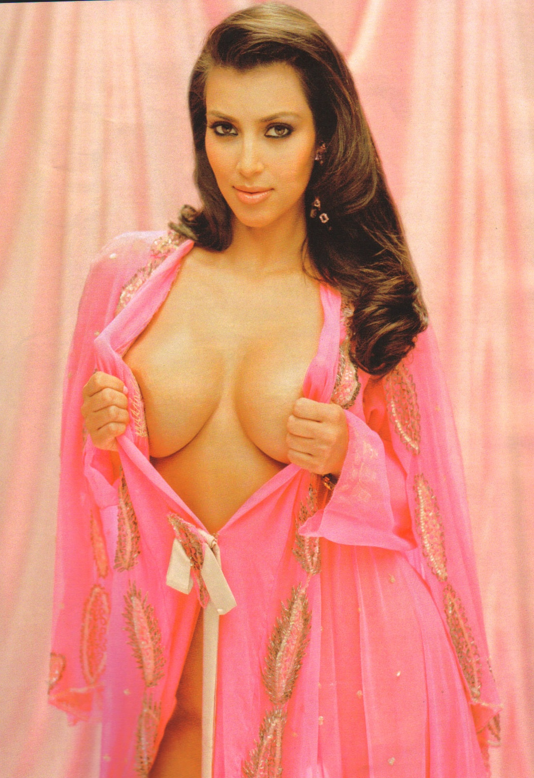 kim kardashian playboy shoot