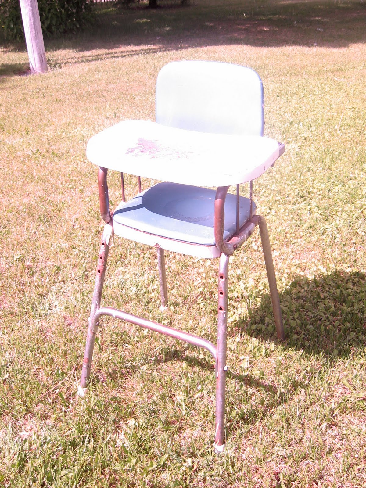 High Chair That Attaches To Chair Frozen Knickers After Vintage Cosco High Chair