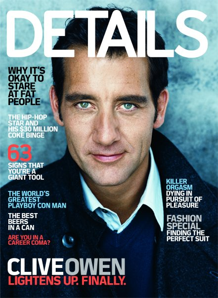 Magazine Covers This Month: 2009 Covers Of Details