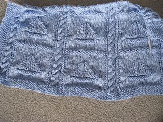 Tmarieknits Sailboat Baby Blanket Update Amp Pattern