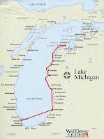 Great Lakes Cruising South Manitou Island