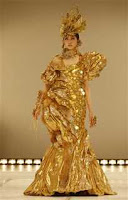 Gold Dress That Cost $1.2 Million