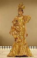 Gold Dress That Cost $1.2 Million