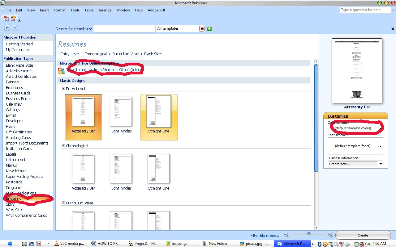 how to use microsoft publisher 2010 to make a website