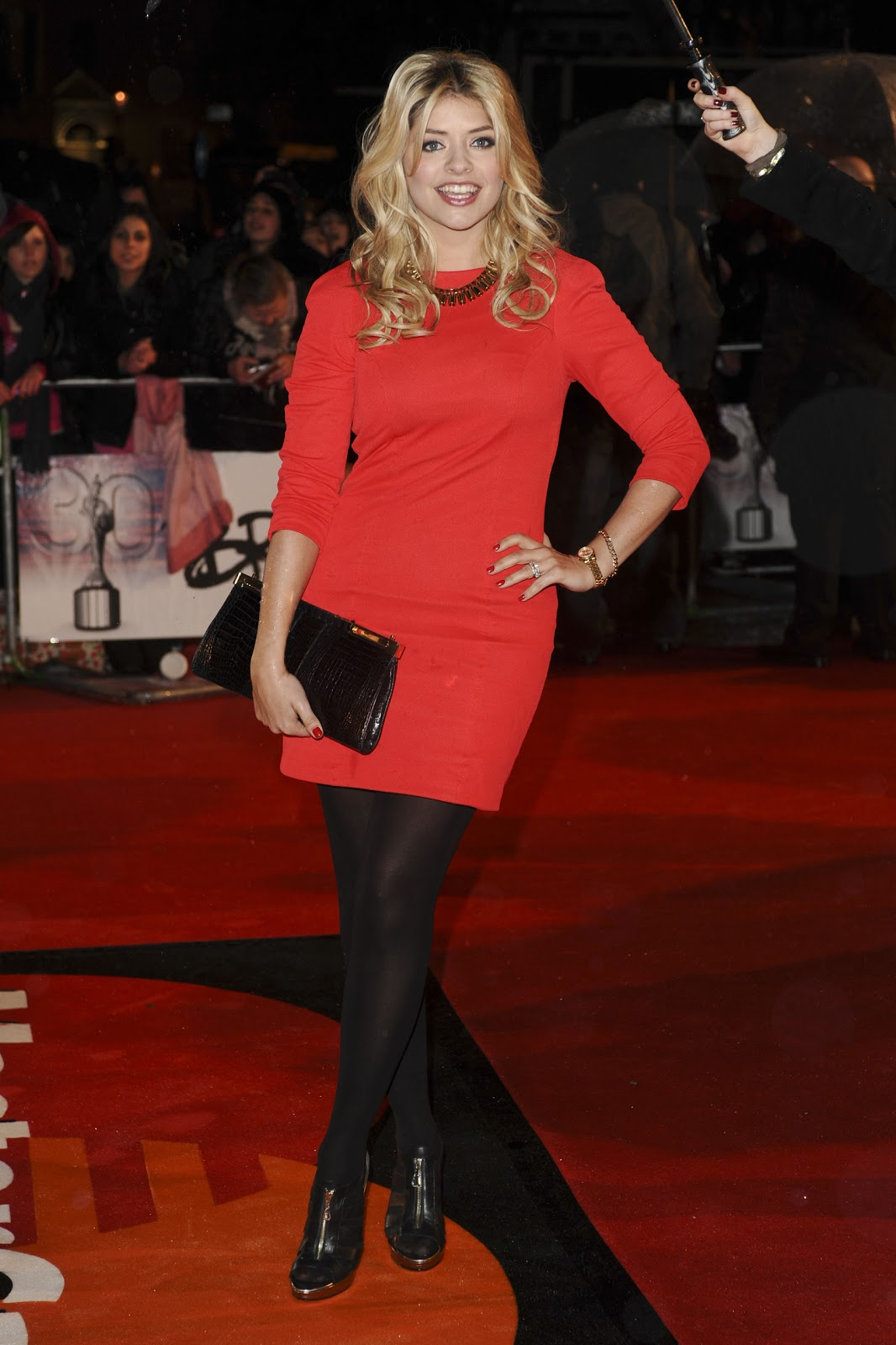 Celebrities in Pantyhose and Tights: Holly Willoughby in ...