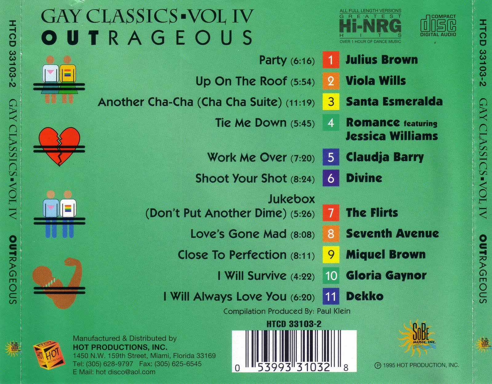 Gay Classics, Vol. 2 Outstanding - Various Artists