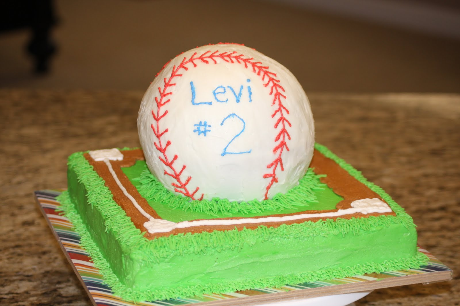 How To Make A Baseball Shirt Cake
