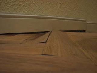 Problemas con el suelo de parquet por qu se levanta el for Cuanto vale poner tarima flotante en un piso