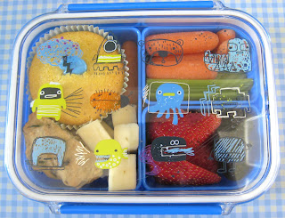 Paperchase Alien Bento Box