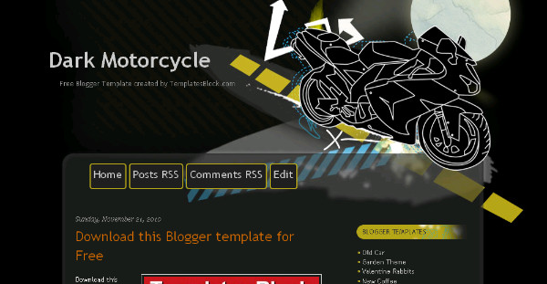 Best automobile Blogger Templates