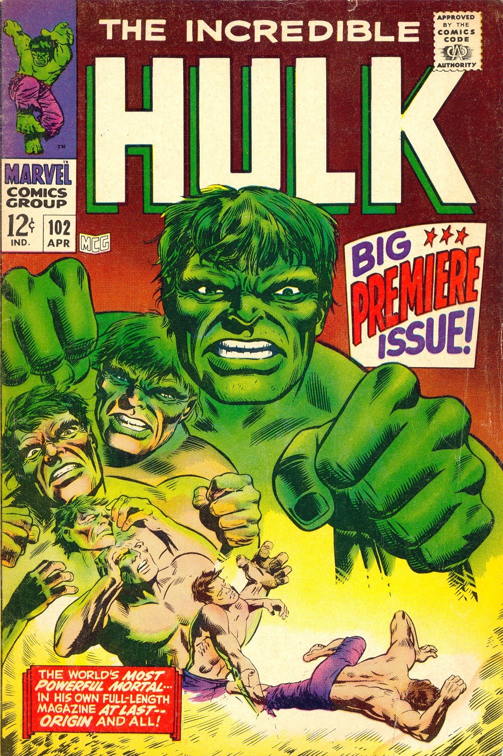 The incredible hulk online