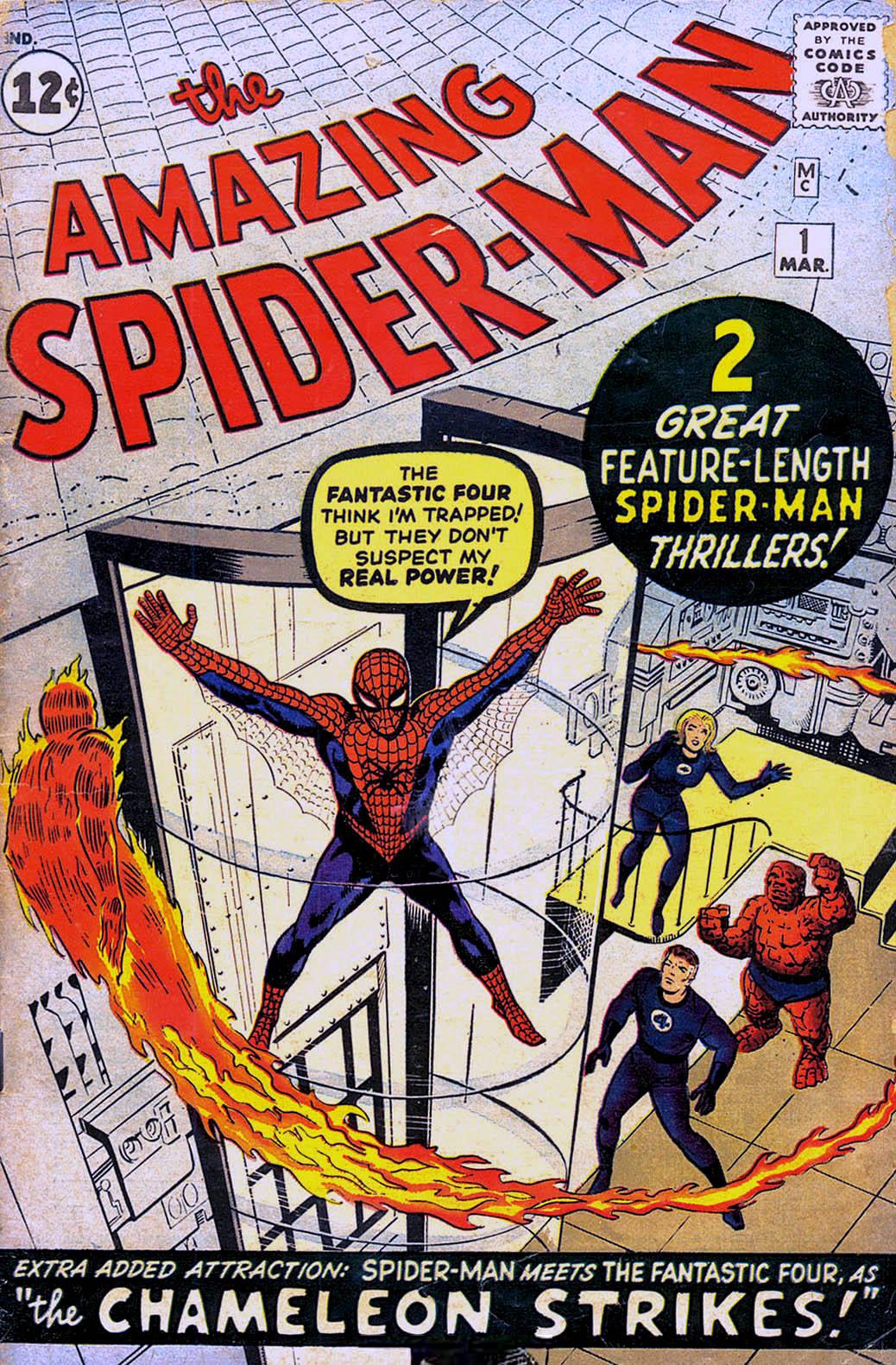 Silver Age Comics Amazing Spiderman 1
